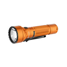 Olight Freyr Orange USB Rechargeable Flashlight, White & RGB Lights, 1750 Lumens