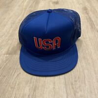 DADA Vintage USA Hat RARE Snapback NEW Red White Blue VTG 90s Cap