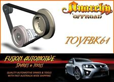 Fan Belt Kit for TOYOTA LANDCRUISER UZJ100 4.7L V8 32V EFI 2UZFE TOY61