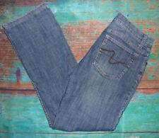 ZENA WOMAN'S Size 8  W28 L28 Blue Denim Jeans  FREE SHIP