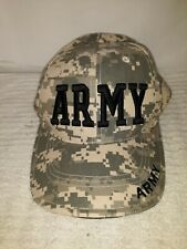 US ARMY Embroidered Adjustable Ball Cap Green Digital Camo Hat Rothco NEW