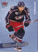08-09 Fleer Ultra Jakub Voracek /100 Rookie ICE MEDALLION Flyers 2008