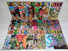 Nam 1-26 SET! 1986 Marvel Comics (b 17991)