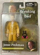 Breaking Bad Jesse Pinkman Yellow Hazmat Figure MEZCO