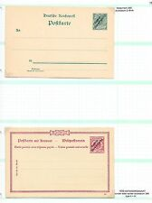 Deutsch Süd West Afrika stamps Collection of PC + DoubleCard not sent