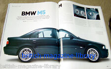Evo Magazine Issue 58 - Buying Guide: BMW M5 E39