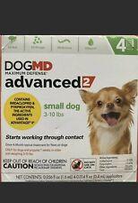 Dog Md Advanced 2 Topical Flea & Tick Small Dog 3-10 lbs 4 Mos Supply Dogmd