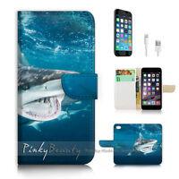 ( For iPhone 6 Plus / iPhone 6S Plus ) Case Cover P2434 Shark