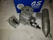 OS Engine - OS max 61 FX w/muffler - new