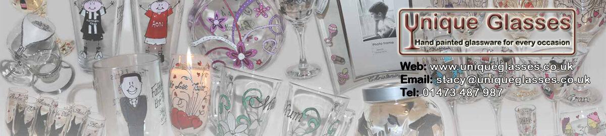 Hand Painted Unique Glasses