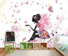 Fototapete Schmetterlingsfee Nr. 438 Größe: 350 x 245cm Fee Schmetterling Tapete