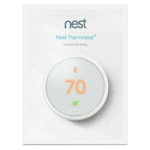Google Nest Thermostat E - 3rd Generation (Model T4000ES) - New, Factory Sealed!