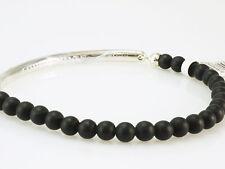 Thomas Sabo Armband LBA0014 023 11 L 18 cm  Love bridge Obsidian schwarz