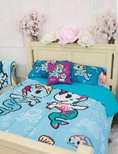 "NEW Tokidoki Mermicornos Bubbles Blue Full/Queen Comforter 81""x86"" Licensed"