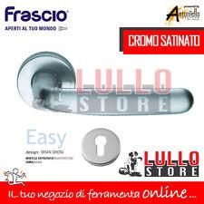 """Frascio Maniglia """"easy"""" C/rosetta cromo Sat."""