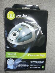 WERTHEIM VACUUM CLEANER BAGS