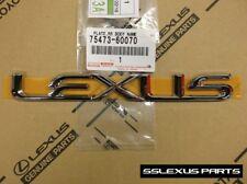 "Lexus GX470 (2003-2009) OEM Genuine REAR Trunk Door ""Lexus"" LOGO EMBLEM BADGE"