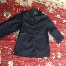 Benetton Girls stretch Denim Blouse Age 6 Years Approx.