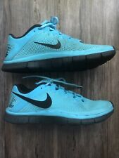 NIKE Free Run 3.0 Blue Black Running Shoes Men's Sz 9.5 553684-402