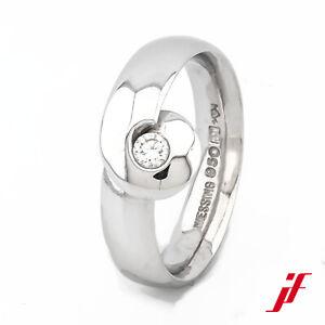 Ring Niessing Solitaire Ring 950er Platinum Diamond Size 53