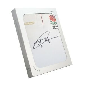 Jonny Wilkinson Signed England Rugby Jersey. In Gift Box