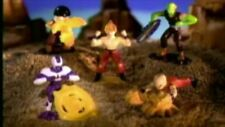 DRAGON BALL Z Burger King 2002 complete set 5 action figures Coolers Revenge