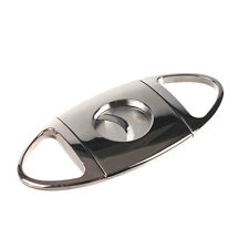 ShowJade Guillotine Cigar Cutter Stainless Double Blade Steel Cutter