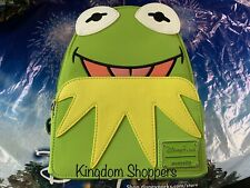 2020 Disney Parks Muppets Kermit The Frog Loungefly Backpack In Hand