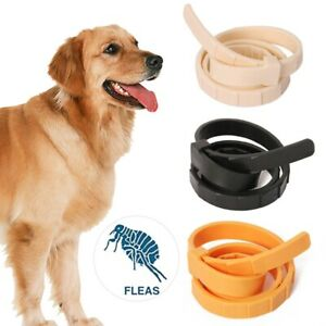 Adjustable Pet Flea Neck Collar for Dogs Cats Flea and Tick 8 Months Protec Nice