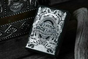 Sinful Silver Edition Devil's In The Detail - Hidden Detail Playing Cards by ...