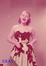 Patti Page 1952 Vintage  5  X  7  TRANSPARENCY