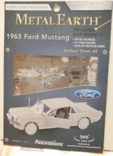 Fascinations Metal Earth 1965 Ford Mustang (Silver Edition) 3D Steel Model Kit