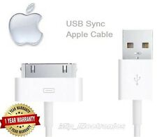 3 x BRAND NEW Charging Cable Charger Lead for Apple iPhone 4,4S,3GS,iPod,iPad2&1