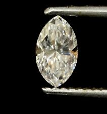 loose GIA certified Lozenge marquise .54ct diamond SI1 E vintage estate antique