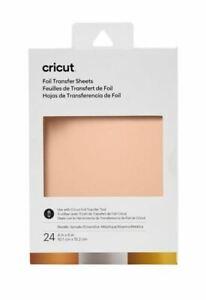 Cricut Foil Transfer Sheets - Metallic Sampler - 24Count - 4x6
