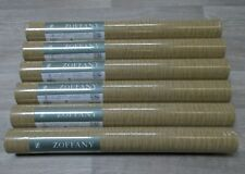 Zoffany Wallpaper 'REEDS' - 6 Rolls - GOLD  ZMOS04006 - NEW AND UNOPENED