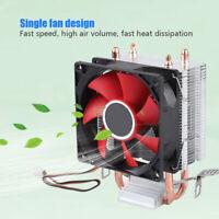 PC Single Silent CPU Cooler Fan Heatsink 3Pin 48CFM 12V for Intel LGA 1155 AMD