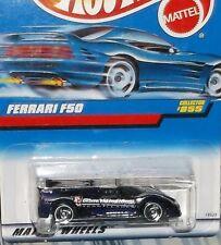 1998 Hot Wheels #855 Purple Ferrari F50 Diecast 4+ Malaysia Rz