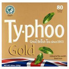 Typhoo Gold Tea Bags 80 Bags (250g)