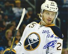 MIKHAIL GRIGORENKO SIGNED BUFFALO SABRES 8X10 PHOTO AUTOGRAPH