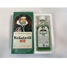Krauterol 102 Sport Post Workout Tired Achy Sore Muscles Pain Herbal Oil-100ml