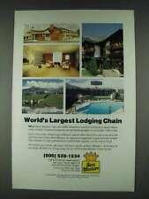 1978 Best Western Motel Ad - Lodging Chain