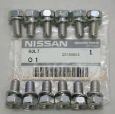 Nissan Patrol GQ GU Clutch Pressure Plate Bolt Genuine Set 9