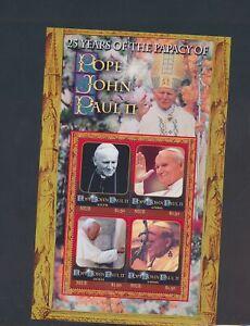 XC89580 Niue pope John Paul II fp XXL sheet MNH