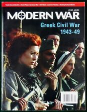 Modern War #11 Greek Civil War 1943-49 Magazine & Game LN UP Complete