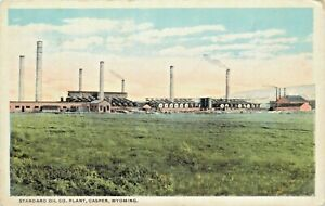 A View Of The Standard Oil Co Plant, Casper, Wyoming WY