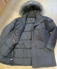 The North Face RRP £ 399 McMurdo Parka Abrigo de plumas de ganso Puffa Con Capucha HyVent L