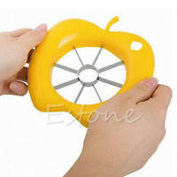 Kitchen Wedge Cutter Fruit Pear Divider Tool Comfort Apple Slicer Corer Hand Hot