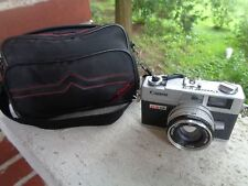 VINTAGE CANON CANONET QL17 35MM RANGEFINDER CAMERA WITH CANON CAMERA BAG