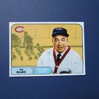 TOE BLAKE  Montreal Canadiens Coach  CUSTOM MADE style 1968-69 Topps 1969  HOF